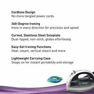 Panasonic NI WL600 Cordless Steam Iron Features list