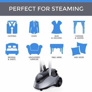PurSteam Full Size Garment Fabric Steamer Uses