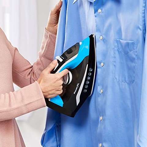 PowerXL iron can be used as a clothes steamer