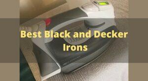 Best Black and Decker Irons