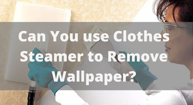 Can You use Clothes Steamer to Remove Wallpaper