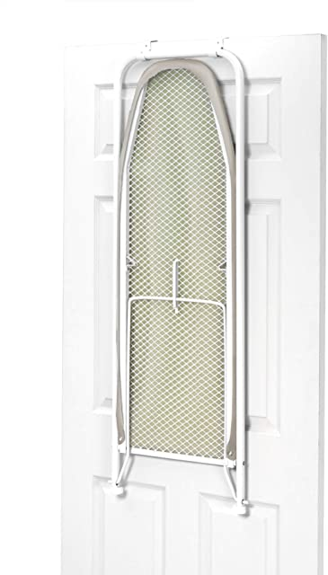 HOMZ 4785025 Over the Door Ironing Board in close position